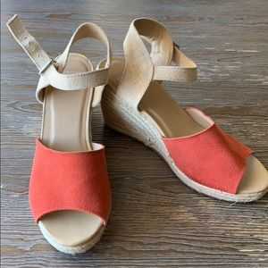 DV by Dolce Vita Wedges Suede Espadrilles